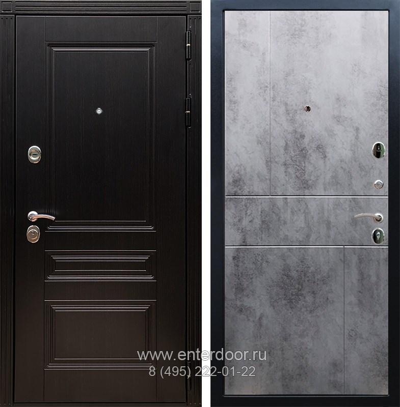 Входная металлическая дверь Армада 17 Мегаполис ФЛ-290 (Венге / Бетон тёмный)