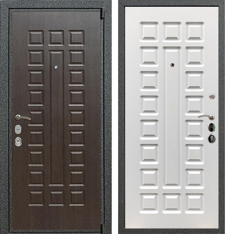 Входная металлическая дверь Армада 4А Mottura (Венге / Белый ясень)