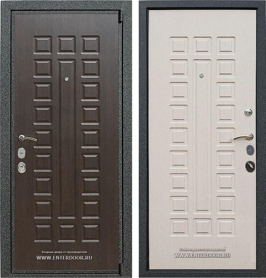 Входная металлическая дверь Армада 4А Mottura (Венге / Дуб беленый)
