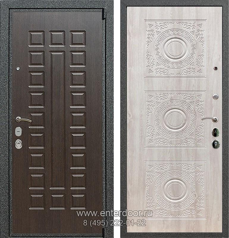 Входная металлическая дверь Армада 4А Mottura Д-18 (Венге / Сосна белая)