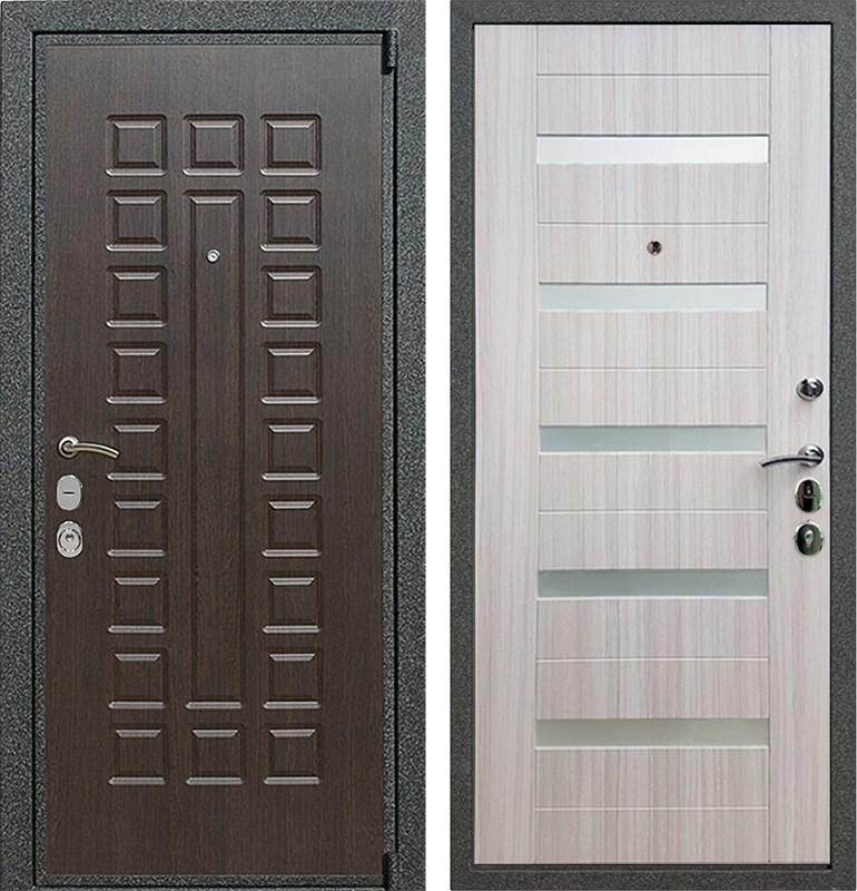 Входная металлическая дверь Армада 4А Mottura СБ-14 (Венге / Сандал белый)