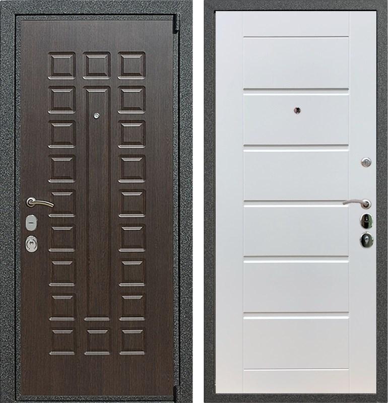 Входная металлическая дверь Армада 4А Mottura Сити (Венге / Белый ясень)
