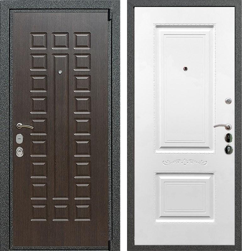 Входная металлическая дверь Армада 4А Mottura Смальта 04 (Венге / Белый силк сноу)