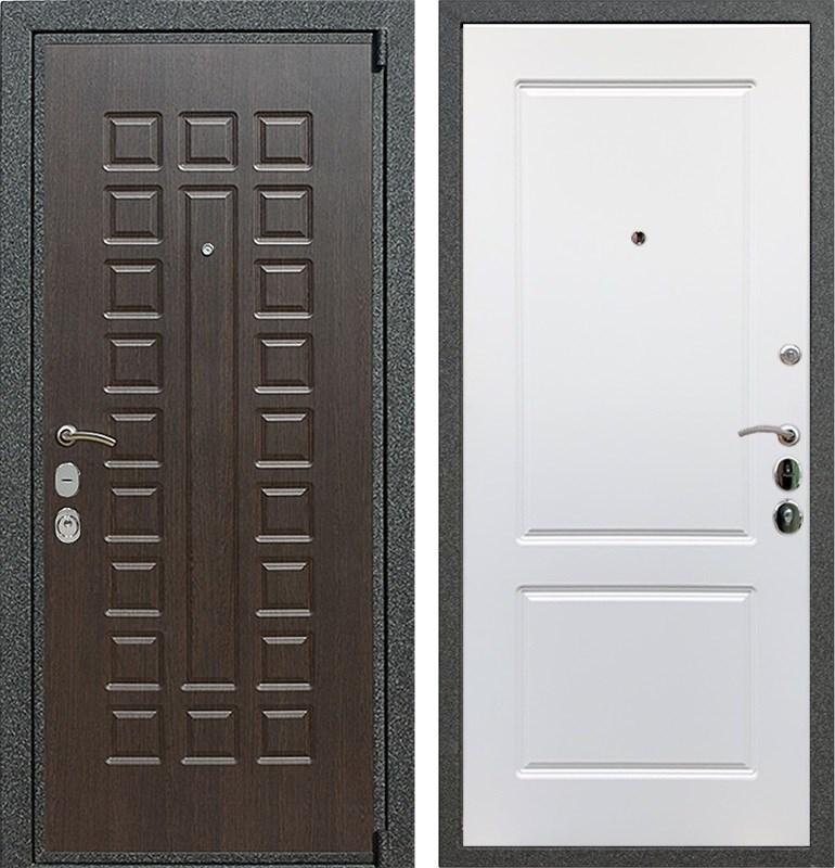 Входная металлическая дверь Армада 4А Mottura ФЛ-117 (Венге / Белый софт)