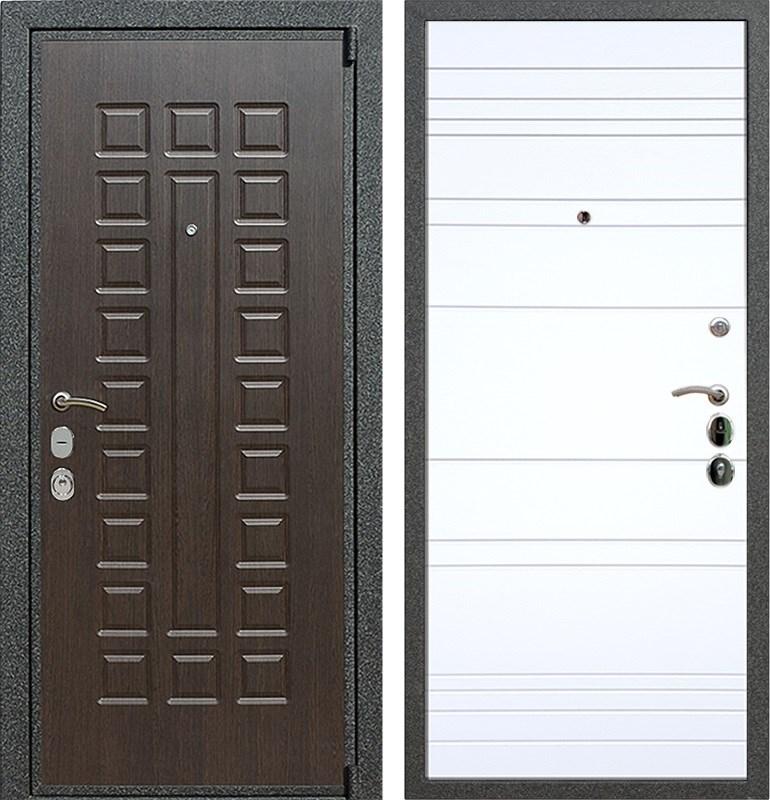 Входная металлическая дверь Армада 4А Mottura ФЛ-14 (Венге / Белый софт)