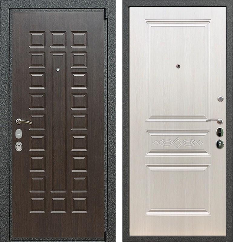 Входная металлическая дверь Армада 4А Mottura ФЛ-243 (Венге / Лиственница беж)