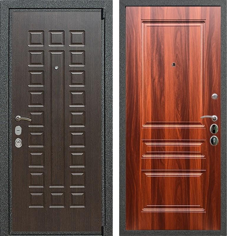 Входная металлическая дверь Армада 4А Mottura ФЛ-243 (Венге / Орех итальянский)