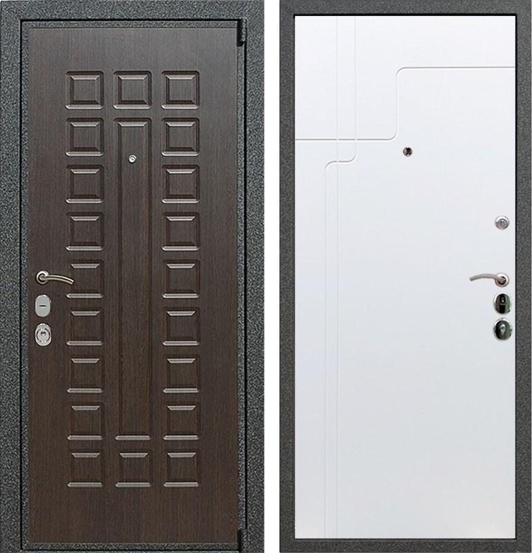 Входная металлическая дверь Армада 4А Mottura ФЛ-246 (Венге / Белый софт)