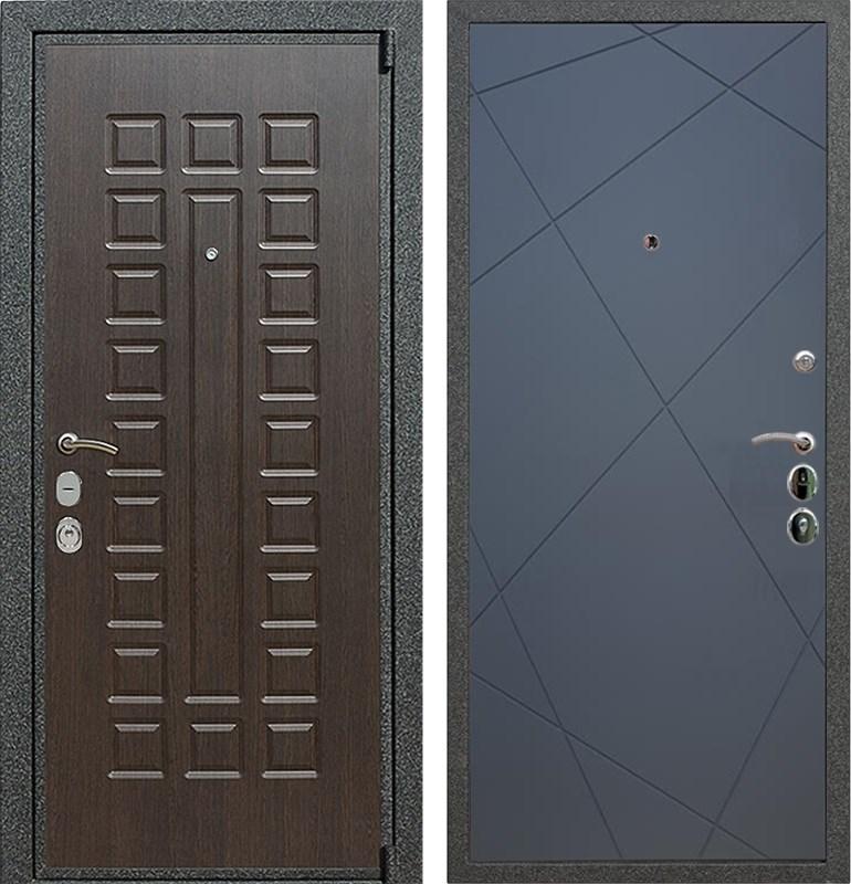 Входная металлическая дверь Армада 4А Mottura ФЛ-291 (Венге / Графит софт)