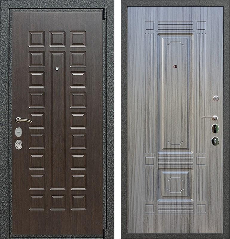 Входная металлическая дверь Армада 4А Mottura ФЛ-2 (Венге / Сандал серый)