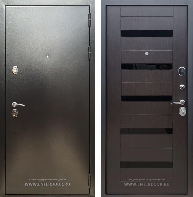 Входная металлическая дверь Армада 5А СБ-14 (Антик серебро / Венге)
