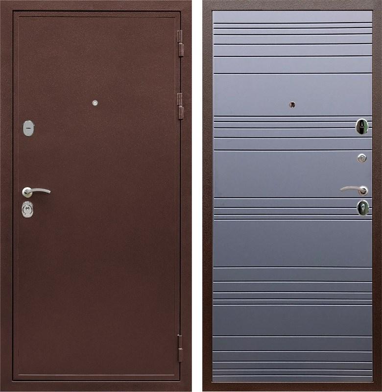 Входная металлическая дверь Армада 5А ФЛ-14 (Медный антик / Графит софт)