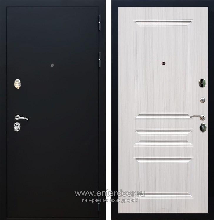 Входная металлическая дверь Армада 5А ФЛ-243 (Черный Муар / Сандал белый)