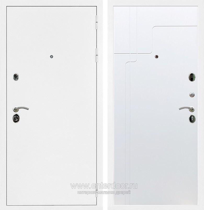 Входная металлическая дверь Армада 5А ФЛ-246 (Белая шагрень / Белый софт)