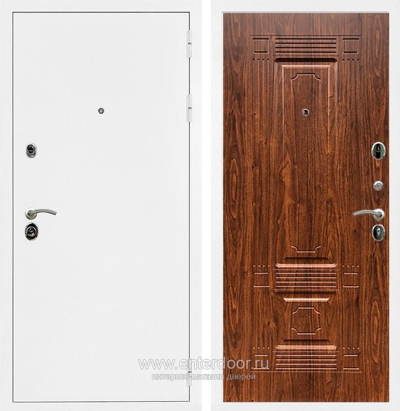 Входная металлическая дверь Армада 5А ФЛ-2 (Белая шагрень / Берёза морёная)