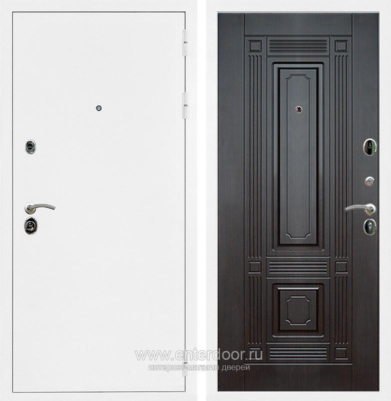 Входная металлическая дверь Армада 5А ФЛ-2 (Белая шагрень / Венге)