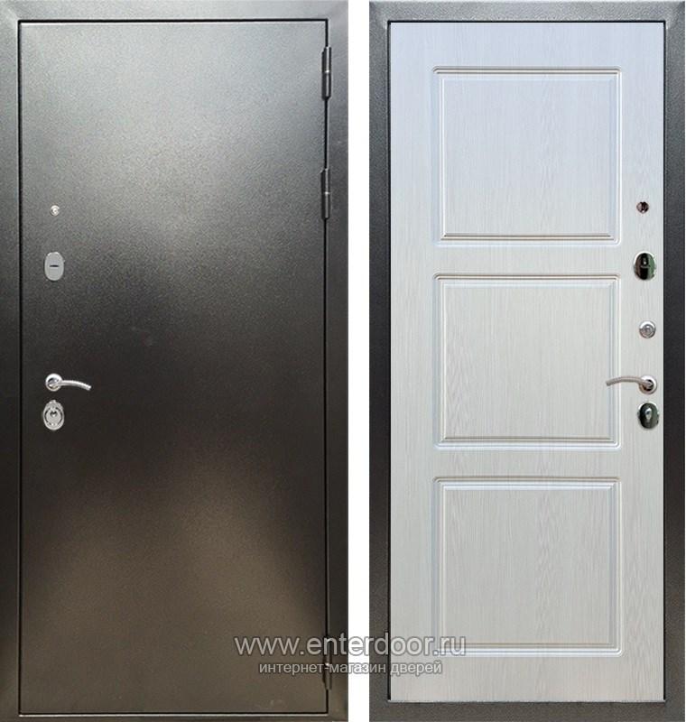 Входная металлическая дверь Армада 5А ФЛ-3 (Антик серебро / Лиственница беж)