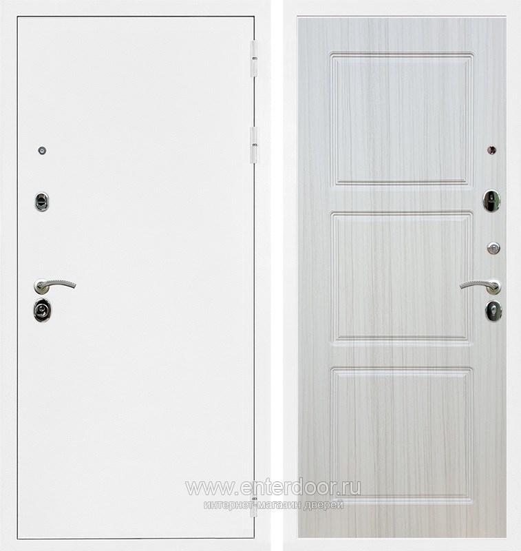 Входная металлическая дверь Армада 5А ФЛ-3 (Белая шагрень / Сандал белый)