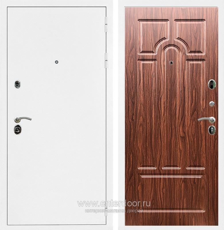 Входная металлическая дверь Армада 5А ФЛ-58 (Белая шагрень / Берёза морёная)