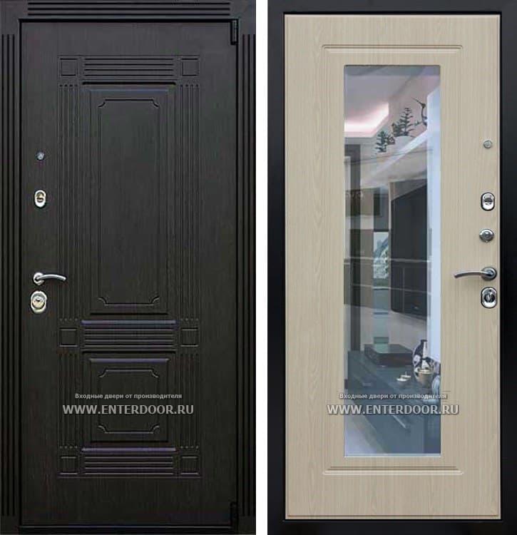 Входная металлическая дверь Армада 9 Викинг с зеркалом