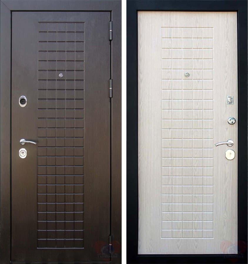 Входная металлическая дверь Кондор Реал (Венге / Беленый Дуб)