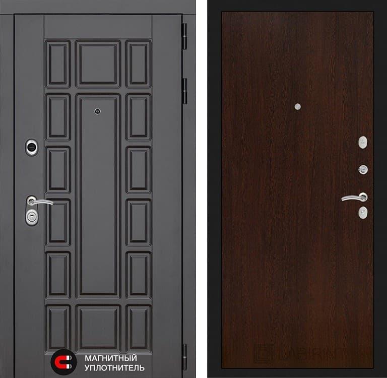 Входная металлическая дверь Лабиринт Нью-Йорк 5 (Венге / Венге)