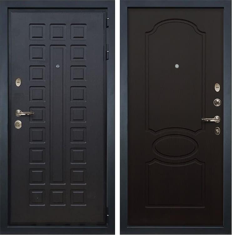 Входная металлическая дверь Лекс Гладиатор 3К Венге (панель №13)