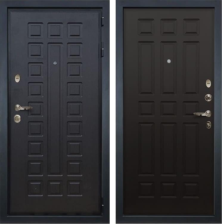Входная металлическая дверь Лекс Гладиатор 3К Венге (панель №29)