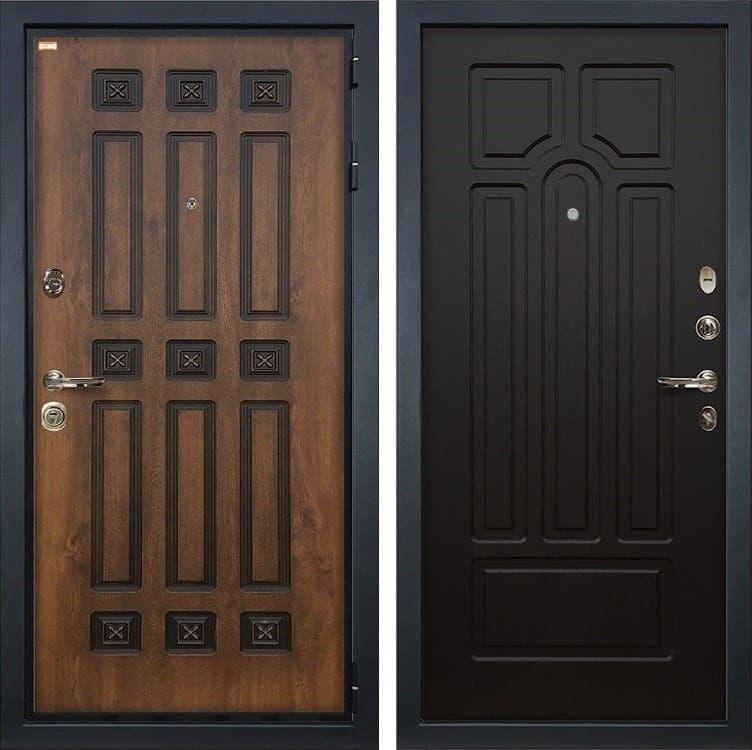 Входная металлическая дверь Лекс Гладиатор 3К Винорит Венге (панель №32)