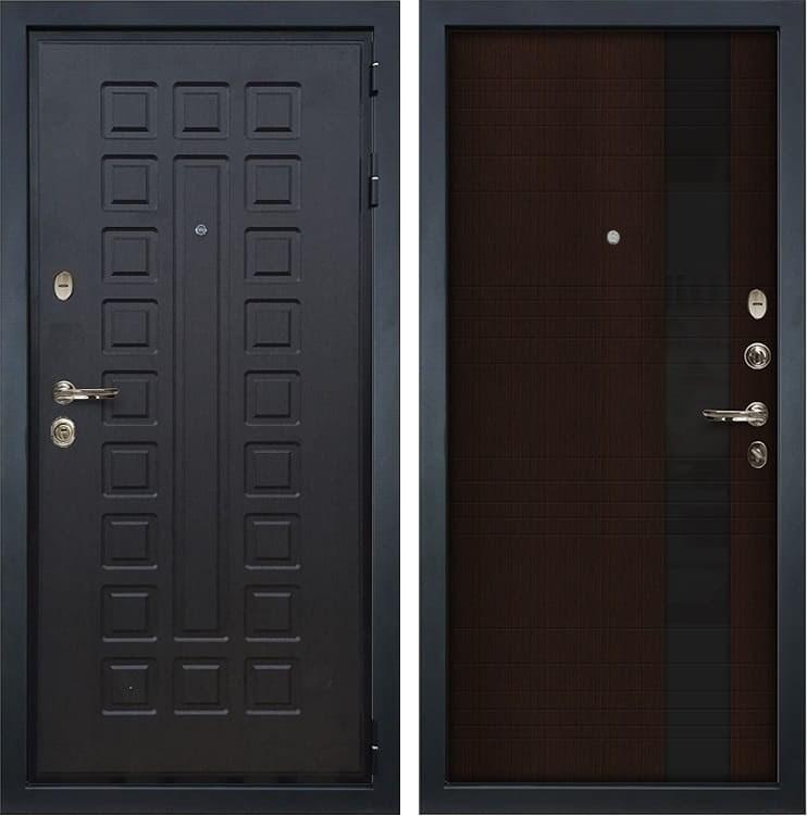 Входная металлическая дверь Лекс Гладиатор 3К Новита Венге (панель №53)