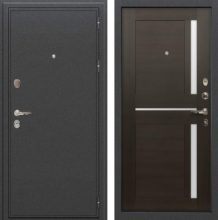 Входная металлическая дверь Лекс Колизей Баджио Венге (панель №50)