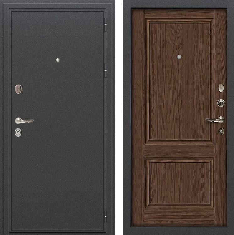 Входная металлическая дверь Лекс Колизей Энигма-1 Орех (панель №57)