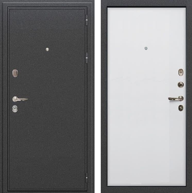 Входная металлическая дверь Лекс Колизей Ясень белый (панель №62)