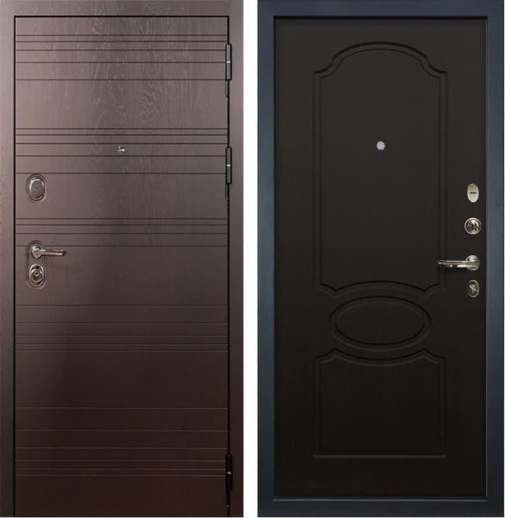 Входная металлическая дверь Лекс Легион Венге (панель №13)