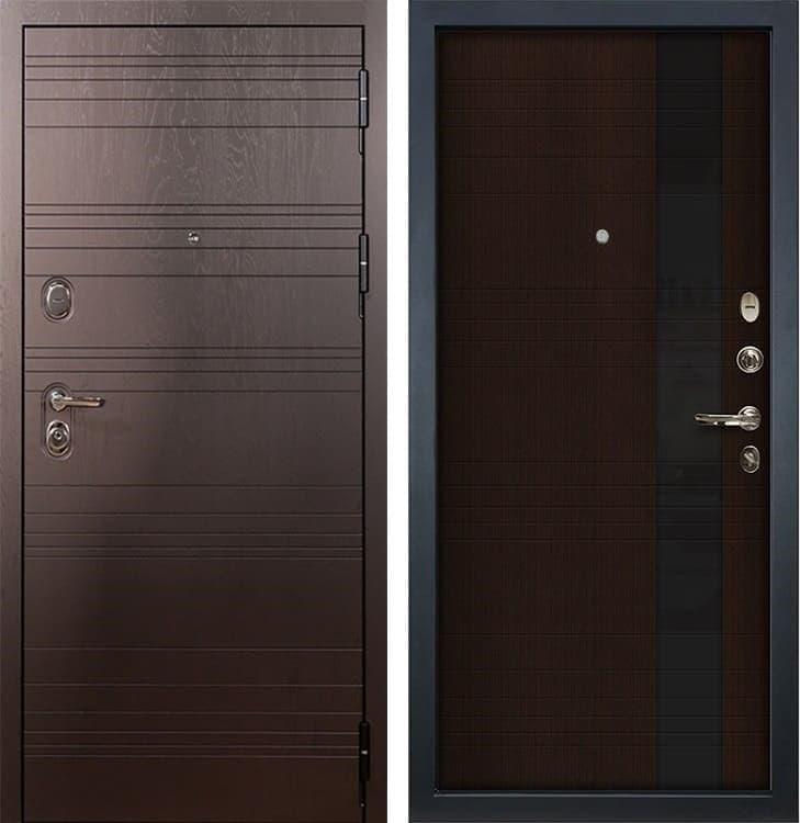 Входная металлическая дверь Лекс Легион Новита Венге (панель №53)