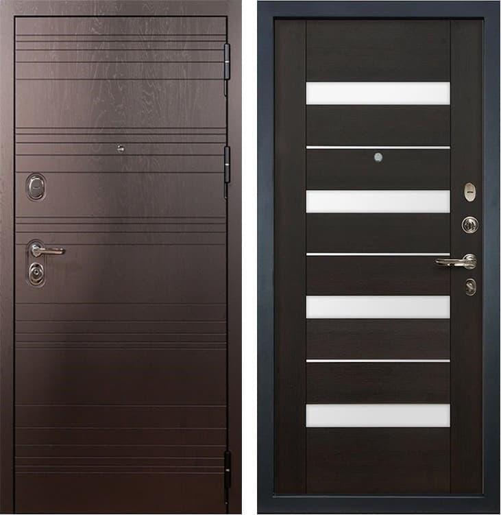Входная металлическая дверь Лекс Легион Сицилио Венге (панель №51)