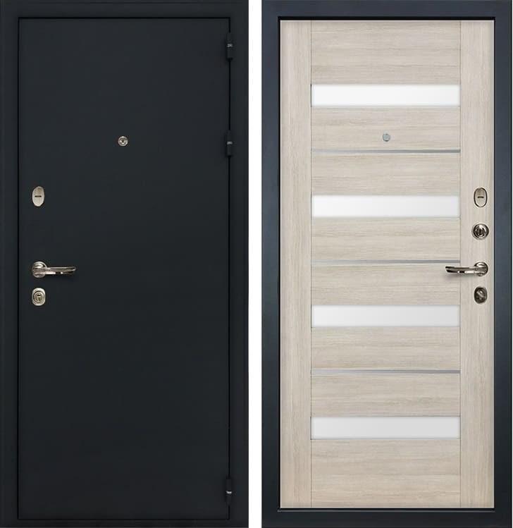 Входная металлическая дверь Лекс Рим Сицилио Ясень кремовый (панель №48)