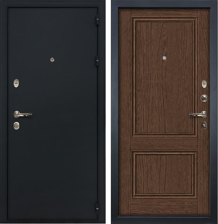 Входная металлическая дверь Лекс Рим Энигма-1 Орех (панель №57)
