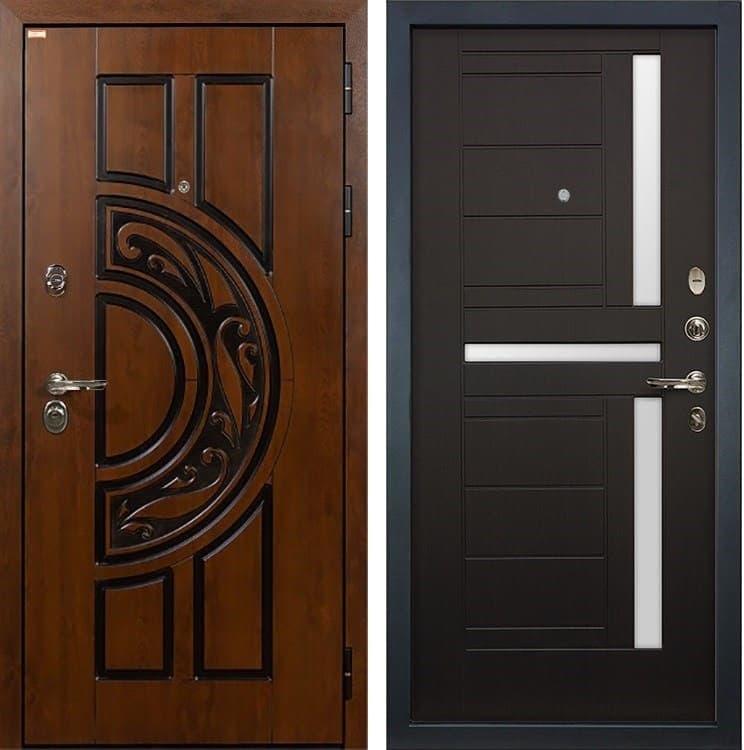 Входная металлическая дверь Лекс Спартак Cisa Венге (панель №35)
