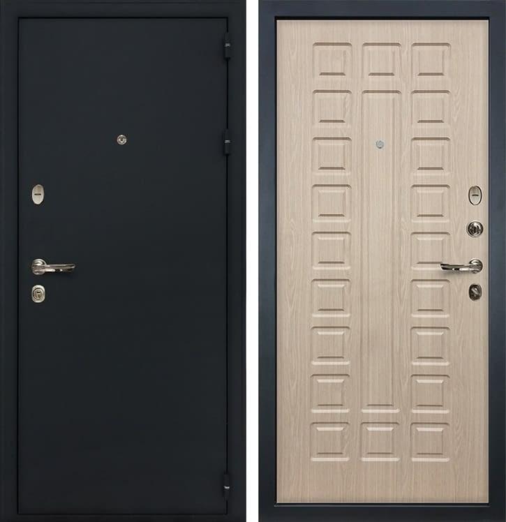 Входная металлическая дверь Лекс 2 Рим Дуб беленый (панель №20)
