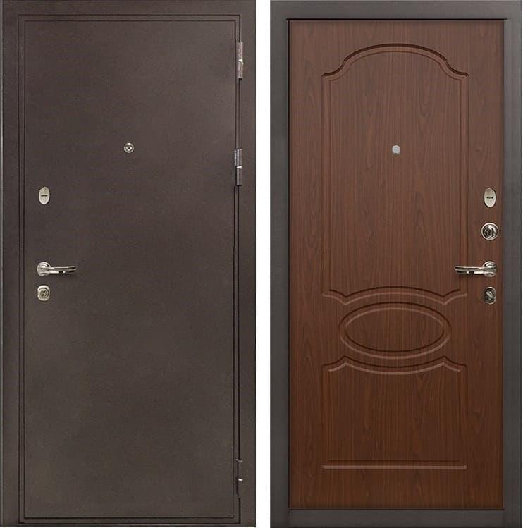 Входная металлическая дверь Лекс 5А Цезарь Береза мореная (панель №12)