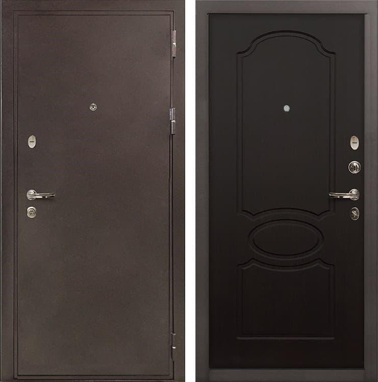 Входная металлическая дверь Лекс 5А Цезарь Венге (панель №13)