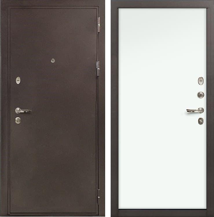 Входная металлическая дверь Лекс 5А Цезарь Винорит Белый (панель №59)