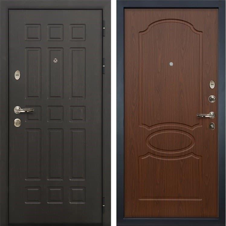 Входная металлическая дверь Лекс 8 Сенатор Берёза мореная (панель №12)
