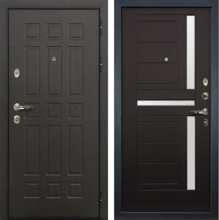 Входная металлическая дверь Лекс 8 Сенатор Венге (панель №35)