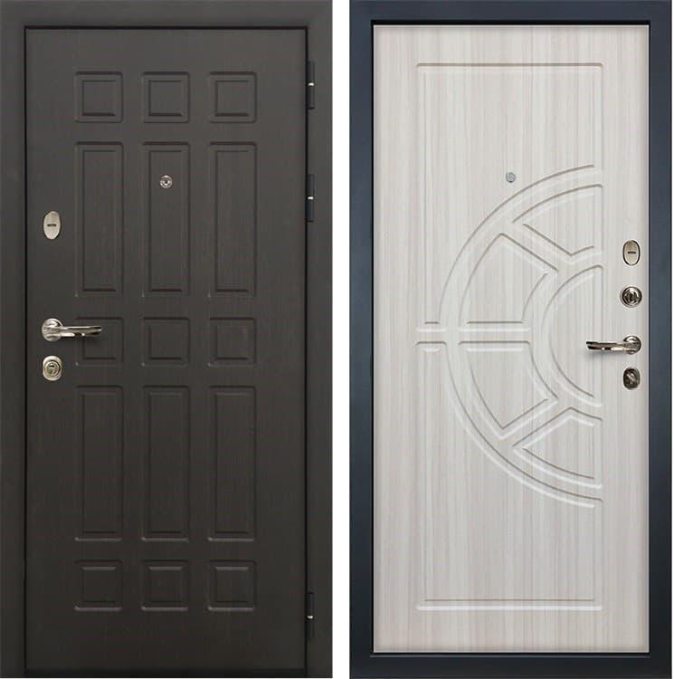 Входная металлическая дверь Лекс 8 Сенатор Сандал белый (панель №44)