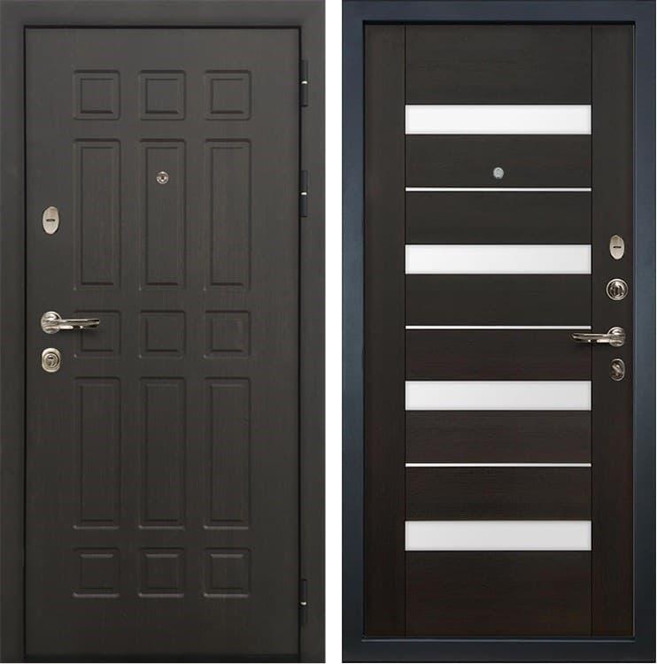 Входная металлическая дверь Лекс 8 Сенатор Сицилио Венге (панель №51)