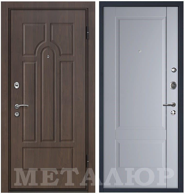 Входная металлическая дверь МеталЮр М12 Манхеттен