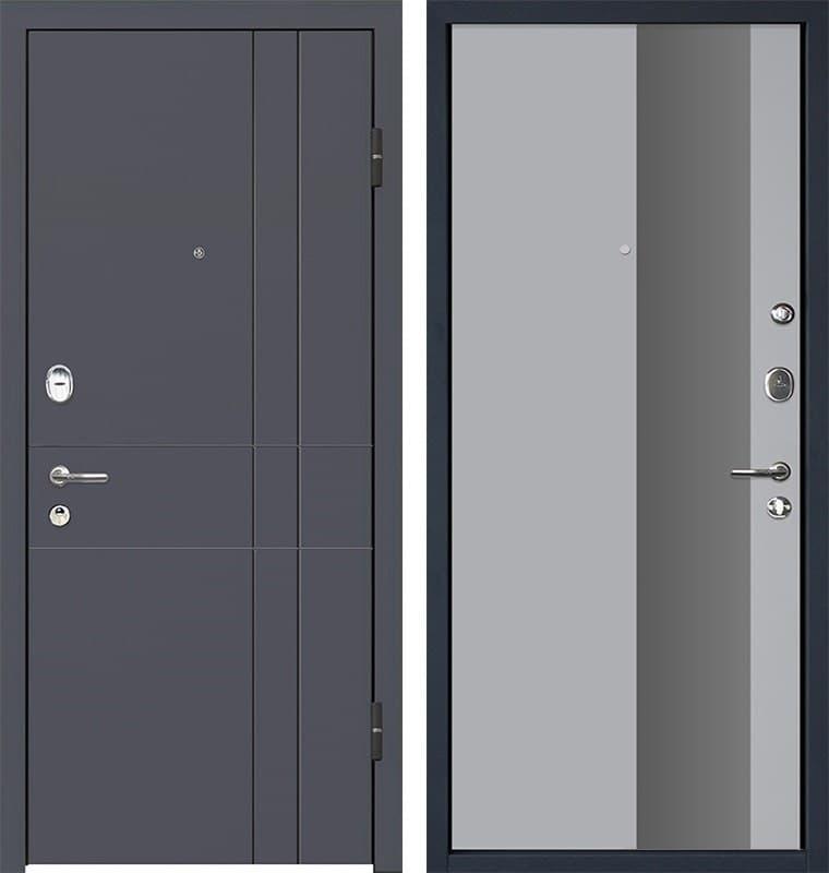 Входная металлическая дверь МеталЮр М16 Манхэттен