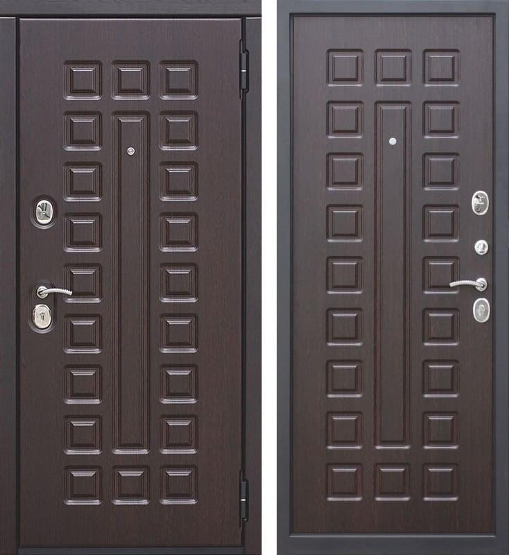 Входная металлическая дверь Монарх (Венге / Венге)